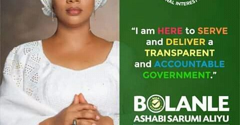 RABIU RIDWAN (TASUED STUDENT) ENDORSE OMOBOLANLE SARUMI ALIYU AS NEXT GOVERNOR OF OYO STATE