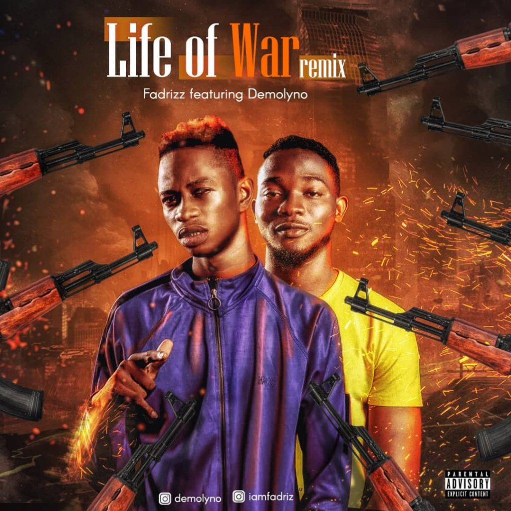 Life of war remix by fadrizz ft. Demolyno