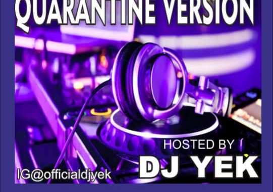 Old School mixtape(quarantine version) by Dj yek