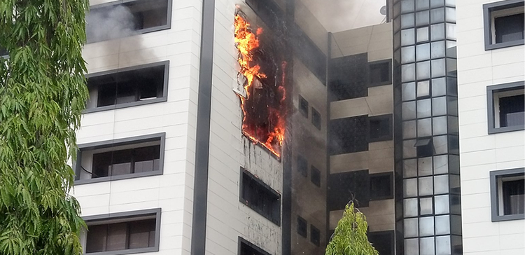 Fire guts Accountant-General's office in Abuja