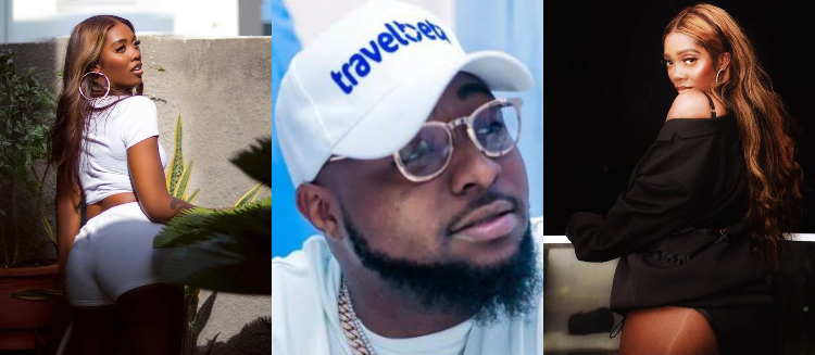 Davido replies to tiwa savage post